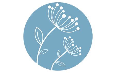 Logo LTP fleur