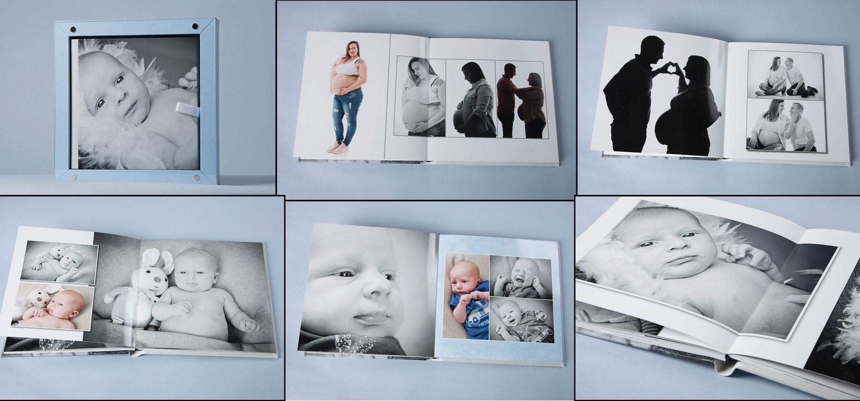album souvenir grossesse et nouveau-né