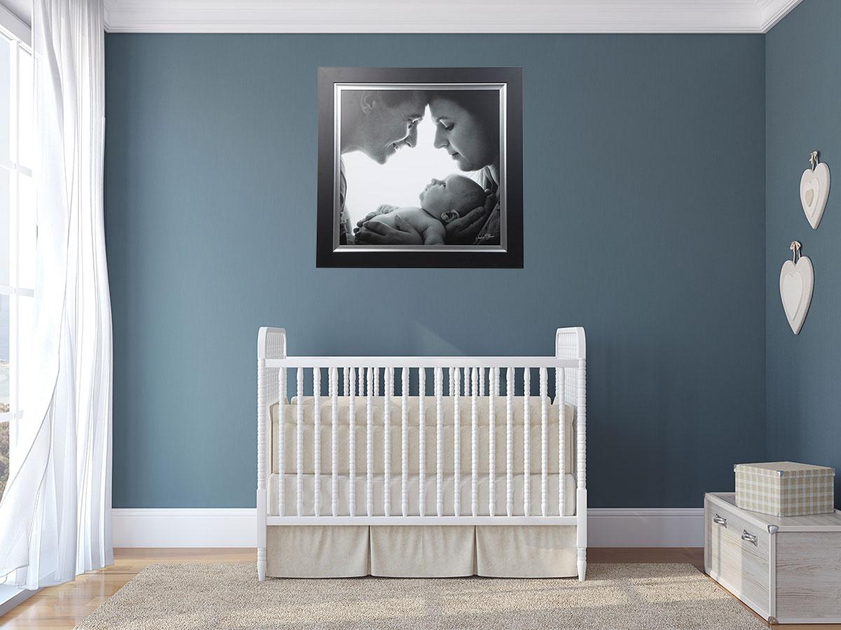 chambre bébé tableau de famille